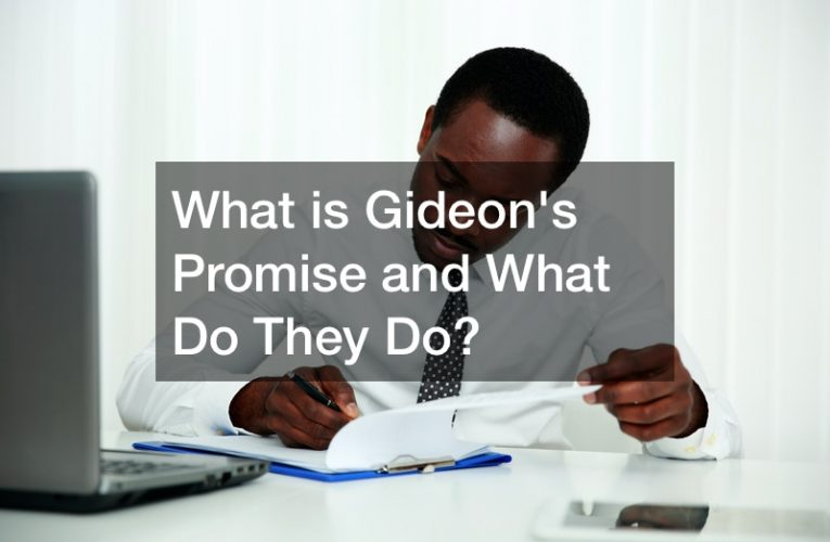 What is Gideon's Promise and What Do They Do?